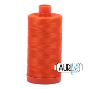 Aurifil 1104 Neon Orange – 1300m