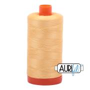 Aurifil 2130 Medium Butter – 1300m