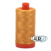 Aurifil 2140 Orange Mustard Gold – 1300m