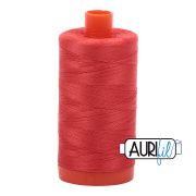 Aurifil 2277 Light Red Orange – 1300m
