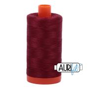 Aurifil 2460 Dark Carmine Red  – 1300m