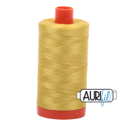 Aurifil 5015 Gold Yellow- 1300m