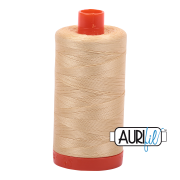 Aurifil 6001 Light Caramel – 1300m