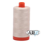 Aurifil 2310 Light Beige 1300m