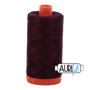 Aurifil 2465 Very Dark Brown 1300m