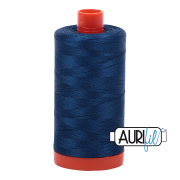 Aurifil 2783 Medium Delft Blue 1300m
