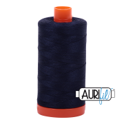 Aurifil 2785 Very Dark Navy  1300m