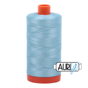 Aurifil 2805 Light Grey Turquoise  1300m