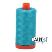 Aurifil 2810 Turquoise 1300m