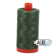 Aurifil 2890  Very Dark Grass Green 1300m