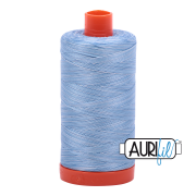 Aurifil 3770 Stone Washed Denim 1300m