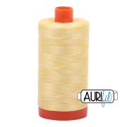Aurifil 3910 Lemon Ice 1300m