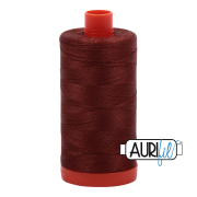 Aurifil 4012 Copper Brown 1300m
