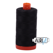 Aurifil 4241 Very Dark Grey 1300m
