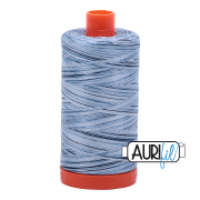 Aurifil 4669 Stonewash Blues 1300m