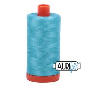 Aurifil 5005 Bright Turquoise 1300m