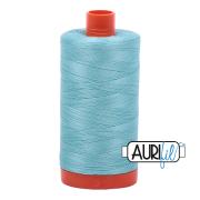 Aurifil 5006 Light Turquoise 1300m