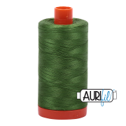 Aurifil 5018 Dark Grass Green 1300m
