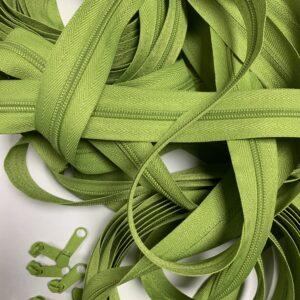 Lynlås 6 mm 0633 Lime