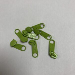 Skyder til 6 mm Lynlås 0633 Lime