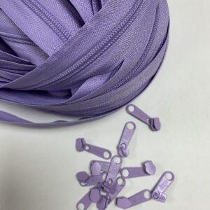 Lynlås 6 mm 0566 Lys Violet