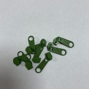 Skyder til 6 mm Lynlås 0662 Stedse Grøn
