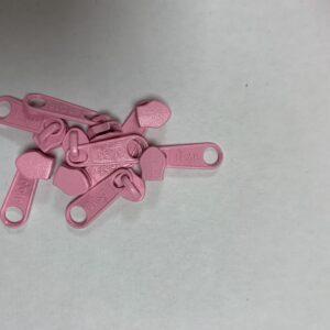 Skyder til 6 mm Lynlås 0534 Rosa Pastel
